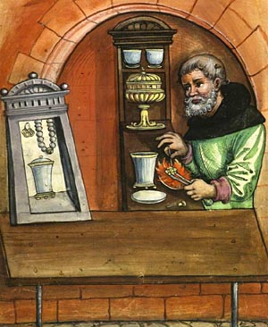 Medieval-Goldsmith-Medieval-Guilds Picture